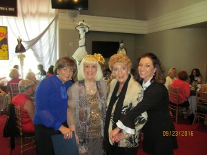 Marilyn Wick, Charlotte Beasley, Yvonne Boice and Kim Wick