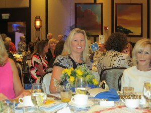 First Lady of FAU and Nominee for Woman of Distinction, Caroline Kelly