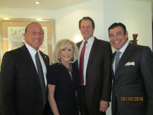 Jordan Zimmerman, Marilyn Weinberg, John Kelly and Peter Baronoff
