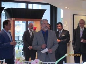 Neil Safer of the Boca Rotary Club