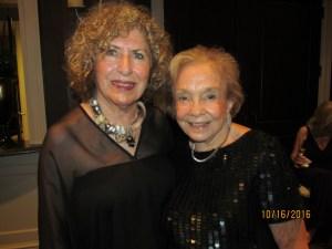 Linda Rosenkranz and June Gelb