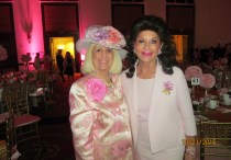 Charlotte Beasley and Christine Lynn at Go Pink Luncheon