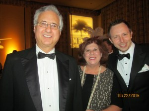 Former Boca Raton Mayor, Steve and Debbie Abrams with Jeremy Rodgers