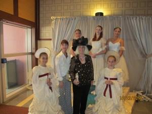 Jane Tyree, Dir. of Boca Ballet, Charlotte Beasley and little Angels