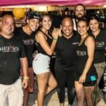 SoBe Seafood Fest - The Naked Taco crew takes a break
