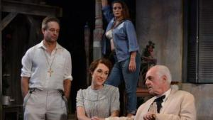 """Tim Altmeyer, Katie Cunningham, Kim Cozort Kay and Dennis Creaghan star in """"The Night of the Iguana,"""" through Nov. 13 at Palm Beach Dramaworks in West Palm Beach. (Samantha Mighdoll / Courtesy)"""