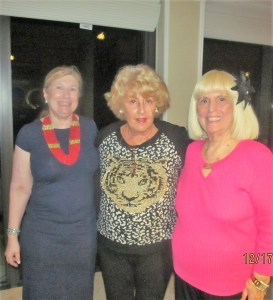 Evalyn David, Cynthia Pelton and Charlotte Beasley