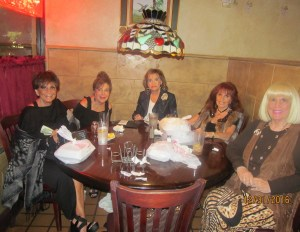 Dinner with friends New Year's Eve at Nino's in Boca