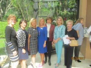 Cindy Krebsbach, Helen Ballerano, Susan Brockway, Karen Sweetaple, Arlene Herson, Kim Champion and Barbara Fisher