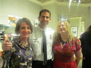 Magda Ginis, Tory Buckman, and Evalyn David