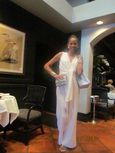 Model at Taboo Restaurant