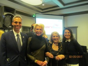 Scott Singer, Patti Carpenter, Rosemary O' Mara and Andrea O'Rourke