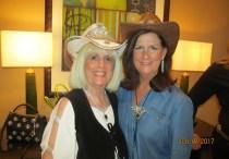 Charlotte Beasley and Mayor Susan Haynie
