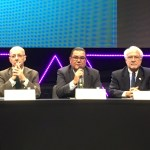 Adalnio Senna Ganem (Brazilian Ambassador), Pastor Silair Almeida (PIB), Carlo Barbieri (Oxford Group)