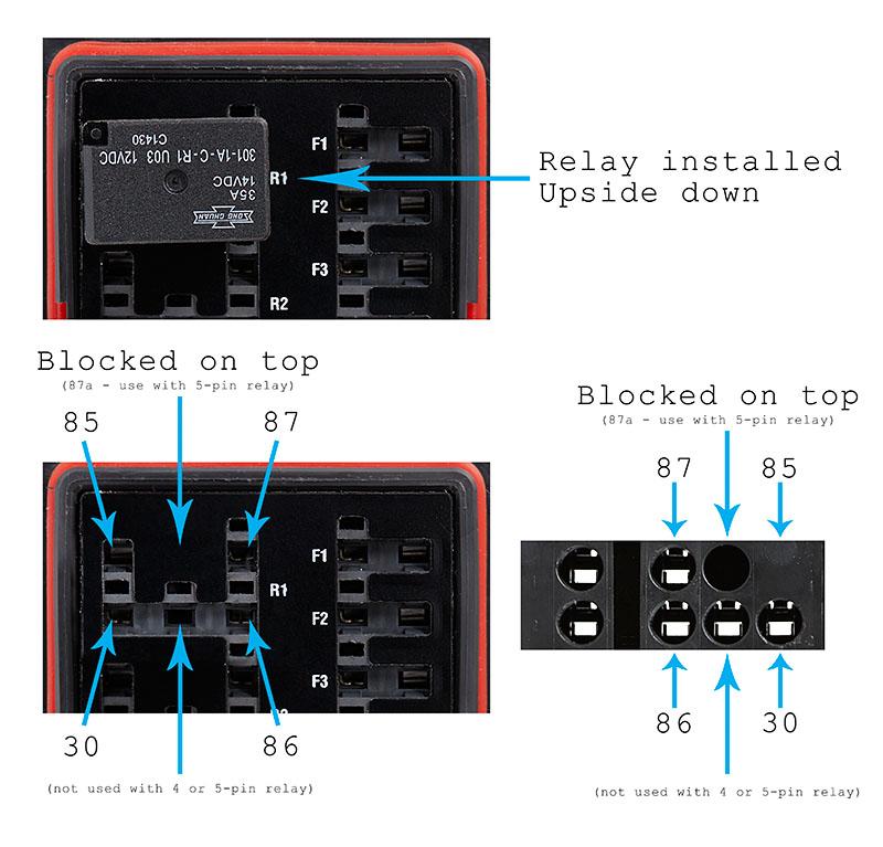DIY Bussmann RTMR Fuse Block, Part 4 \u2013 Wiring and Schematics Bodenzord