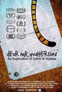 """Poster """"Dear Mr Watterson"""""""