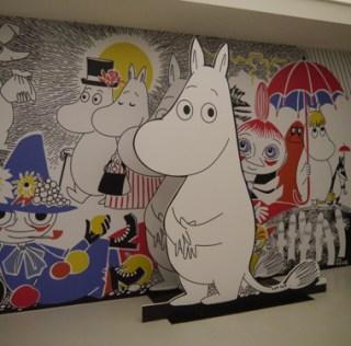 Angoulême 2015 : l'expo Moomins