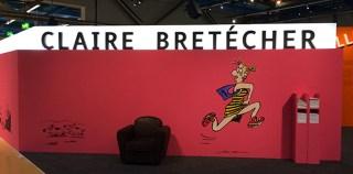 Claire Bretécher en majesté à la BPI du Centre Pompidou
