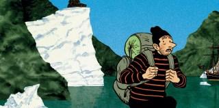 Tanquerelle : Tintin au Groenland