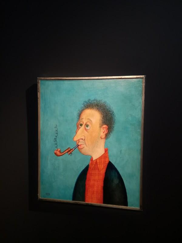 Albert Dubout, autoportrait