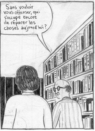 La bibliotheque Case