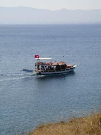 Boat near Turgutreis, Bodrum, Turkey