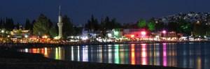 Bitez Beach and Bay at Night photo Bodrum Turkey