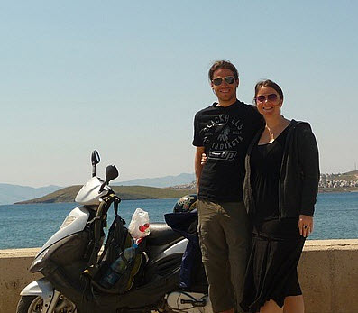 Koppers on the Road Motor Cycle Rental around Bodrum Peninsula Turkey
