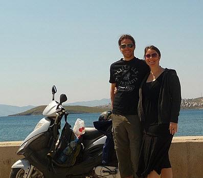 Koppers on the Road Motor Cycle Rental around Bodrum Peninsula Turkey