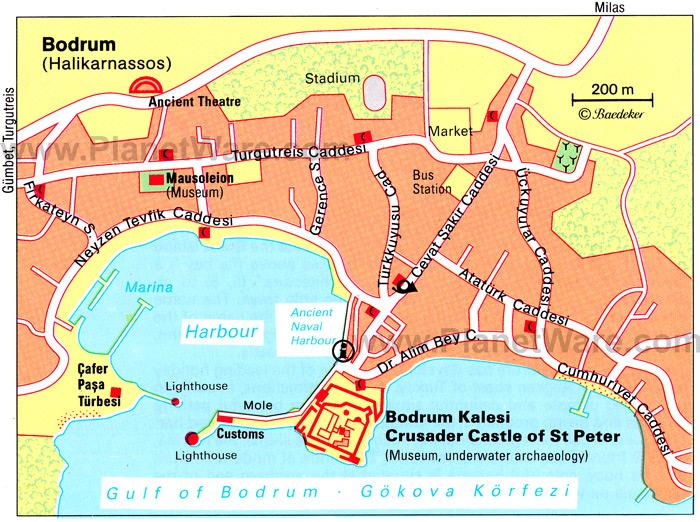 Bodrum Street Maps