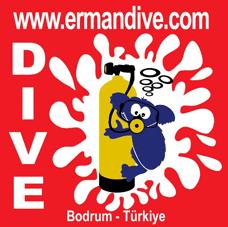 Erman Dive Logo Bodrum Peninsula Turkey