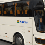 Side view of Havas Bus Turkey