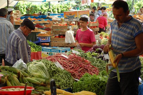 Gundogan Market Bodrum Market Index Page Bodrum Peninsula Shopping Turkey