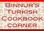Binnurs Turkish Cookbook Corner Logo