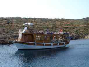 Day Boat from Bodrum Turkey
