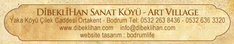 Address Bar for Dibekli Han in Yakakoy, Ortakent