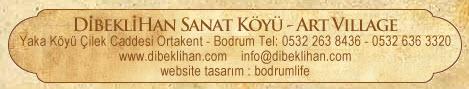 Address Bar for Dibekli Han in Yakakoy, Ortakent
