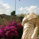 Headless statue at Bodrum Castle Turkey