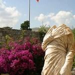 Headless statue at Bodrum Castle Turkey