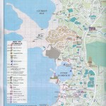 Town Map of Bodrum Turkey with key attractions