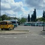 View of Turgutreis Dolmus Station Turkey