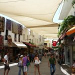 Bodrum Peninsula Turkey Pedestrian Shopping Area