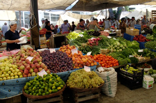 Fruit Vegetables Yalikavak Bodrum Turkey
