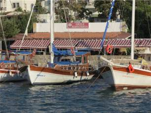 Bitez Boat Harbour Bodrum Peninsula Turkey