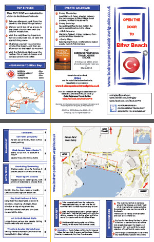 Bitez Quick Reference Travel Guide Bodrum Peninsula Turkey