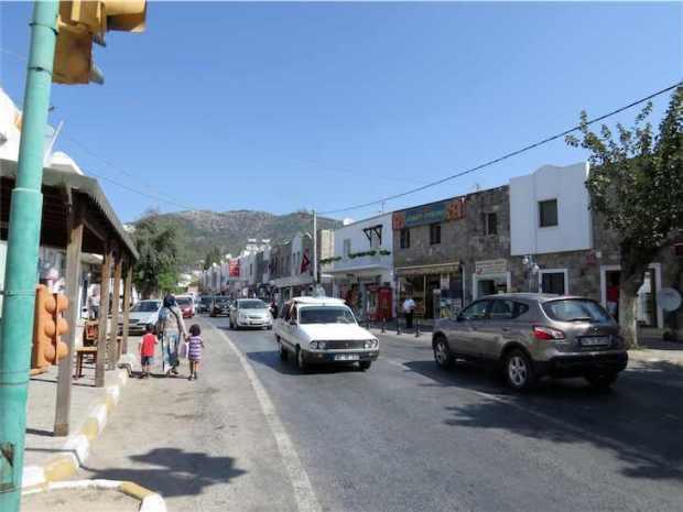 Ortakent Town Bodrum Peninsula Turkey