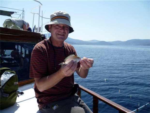 Boat Trip Torba Bodrum Peninsula Turkey