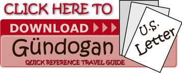 Gundogan-Letter Bodrum Turkey