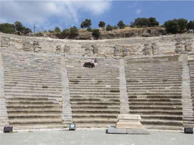 Bodrum Amphitheatre Turkey History