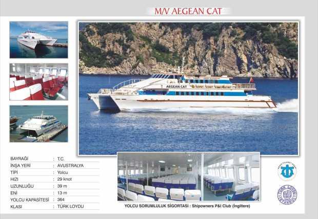 Aegean Cat Catamaran from yesil marmaris to Bodrum